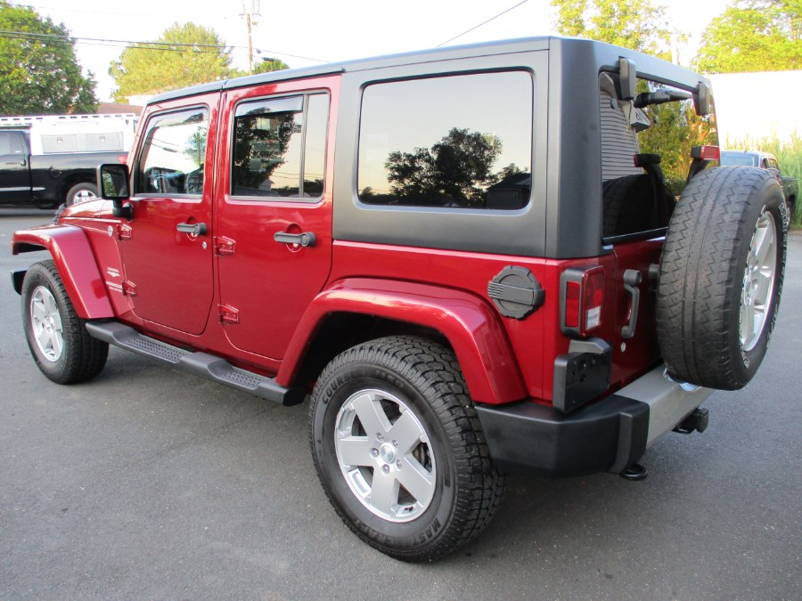 Used Jeep Wrangler Unlimited 4WD 4dr Sahara 2011 | Suffield Auto Sales. Suffield, Connecticut