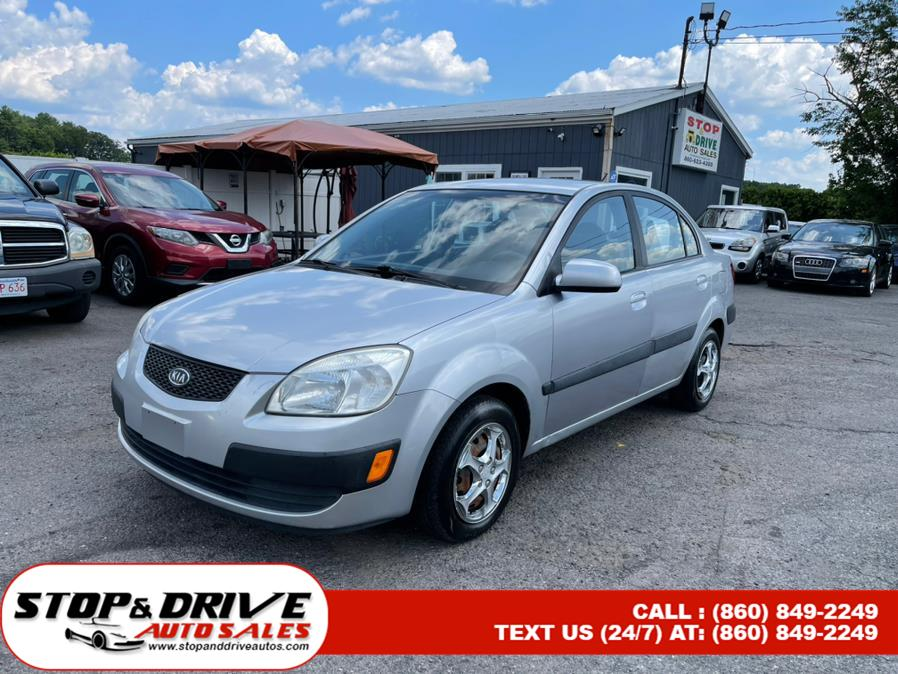 Used Kia Rio 4dr Sdn LX Manual 2006 | Stop & Drive Auto Sales. East Windsor, Connecticut