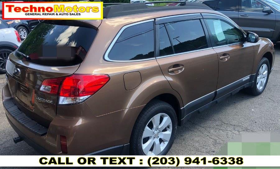 Used Subaru Outback 4dr Wgn H4 Auto 2.5i Premium 2012 | Techno Motors . Danbury , Connecticut