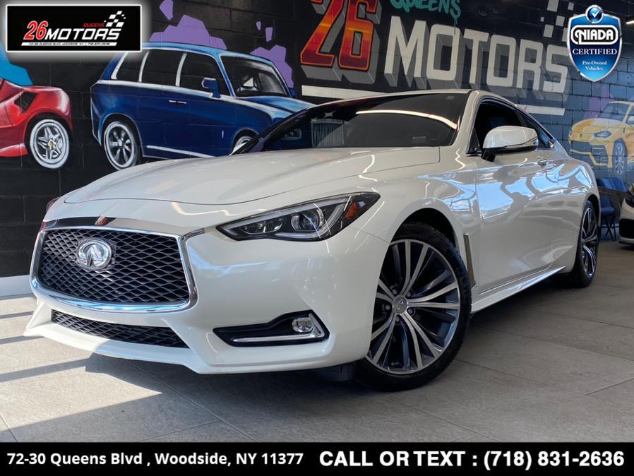 Used 2017 INFINITI Q60 in Woodside, New York | 26 Motors Queens. Woodside, New York