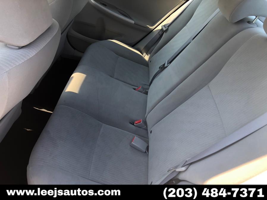 Used Toyota Corolla 4dr Sdn Auto LE (Natl) 2010   LeeJ's Auto Sales & Service. North Branford, Connecticut
