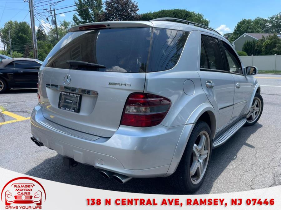 Used Mercedes-Benz M-Class 4MATIC 4dr 6.3L AMG 2008   Ramsey Motor Cars Inc. Ramsey, New Jersey