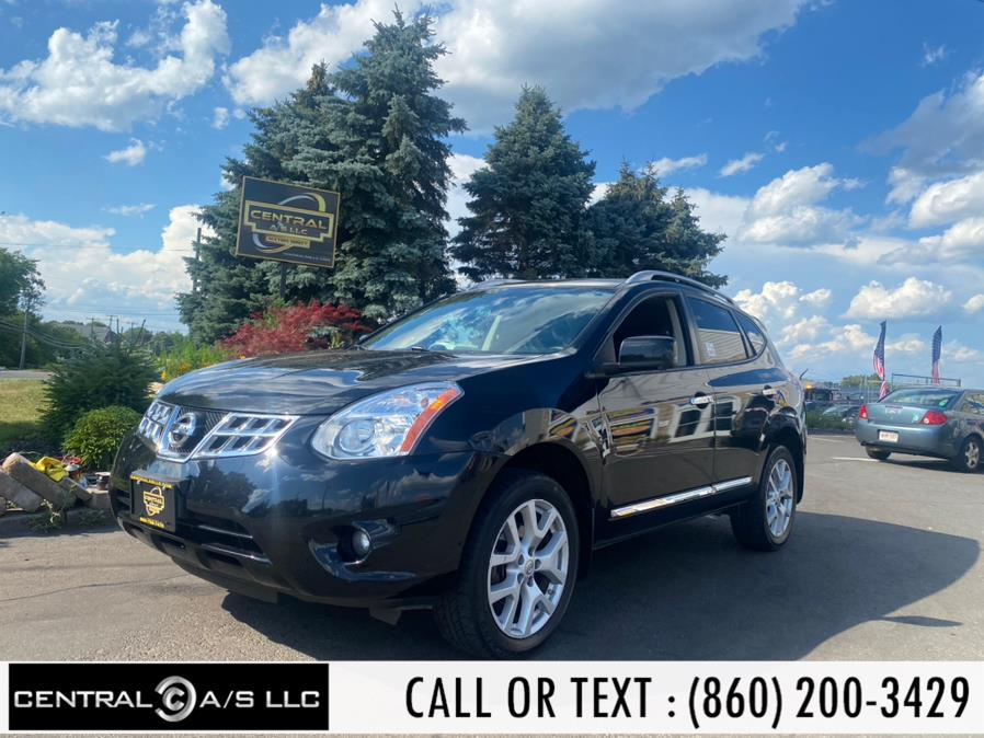 Used Nissan Rogue AWD 4dr SV 2013   Central A/S LLC. East Windsor, Connecticut