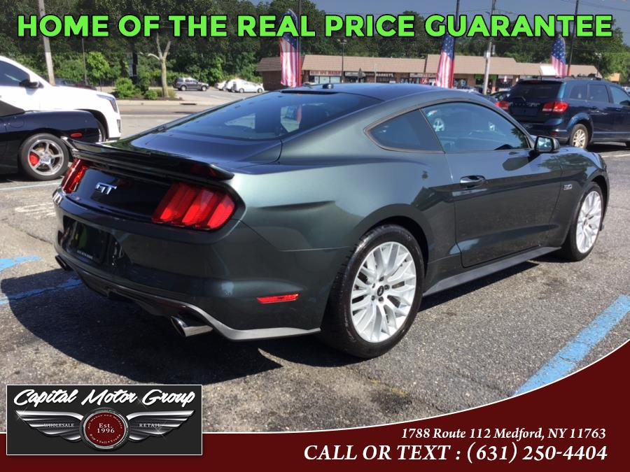 Used Ford Mustang 2dr Fastback GT Premium 2015   Capital Motor Group Inc. Medford, New York