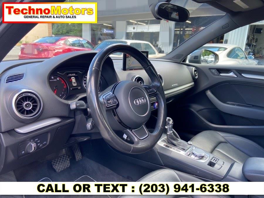 Used Audi S3 4dr Sdn quattro 2.0T Premium Plus 2015   Techno Motors . Danbury , Connecticut