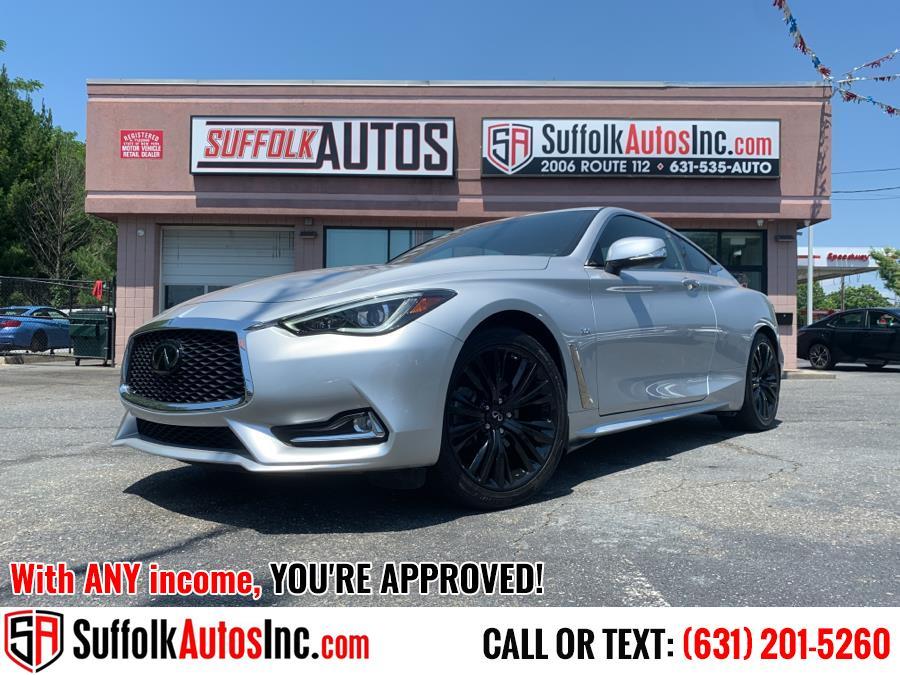 Used 2020 INFINITI Q60 in Medford, New York | Suffolk Autos Inc. Medford, New York