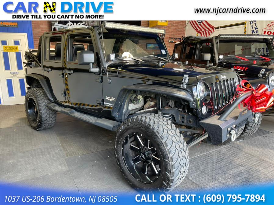 Used Jeep Wrangler Unlimited Sahara 4WD 2014   Car N Drive. Bordentown, New Jersey