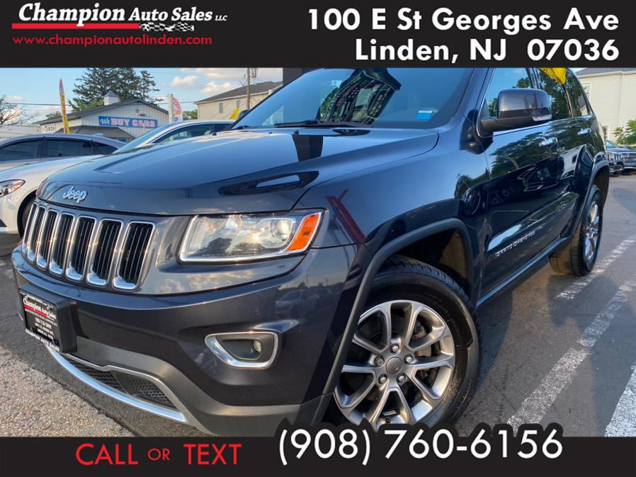 Used 2014 Jeep Grand Cherokee in Linden, New Jersey   Champion Auto Sales. Linden, New Jersey
