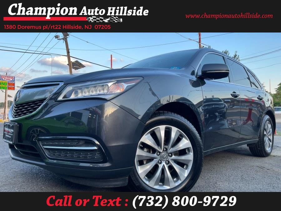 Used 2015 Acura MDX in Hillside, New Jersey | Champion Auto Sales. Hillside, New Jersey