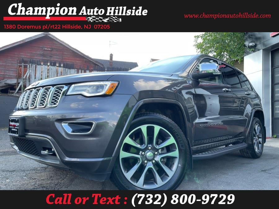 Used 2017 Jeep Grand Cherokee in Hillside, New Jersey | Champion Auto Hillside. Hillside, New Jersey
