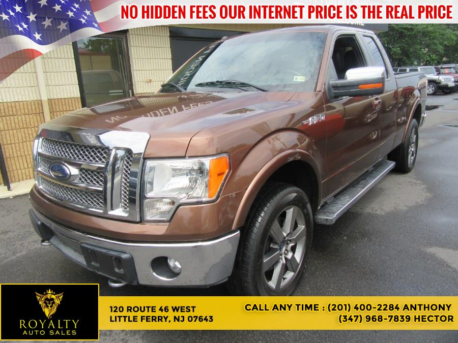 """Used Ford F-150 4WD SuperCab 145"""" Lariat 2012   Royalty Auto Sales. Little Ferry, New Jersey"""