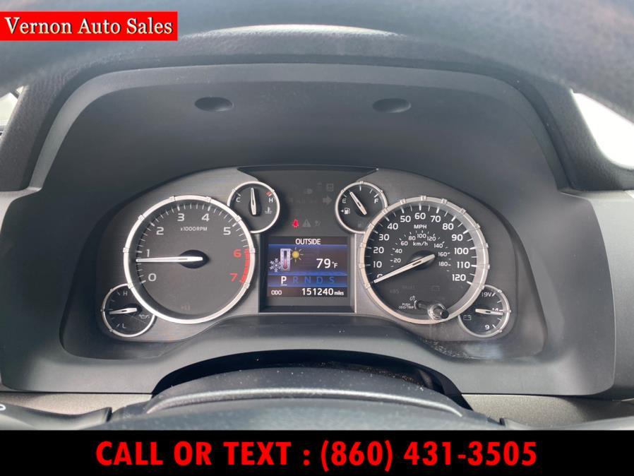 Used Toyota Tundra 4WD Truck CrewMax 5.7L V8 6-Spd AT SR5 (Natl) 2014   Vernon Auto Sale & Service. Manchester, Connecticut