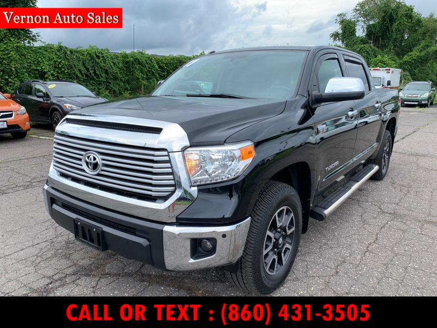 Used 2017 Toyota Tundra 4WD in Manchester, Connecticut | Vernon Auto Sale & Service. Manchester, Connecticut