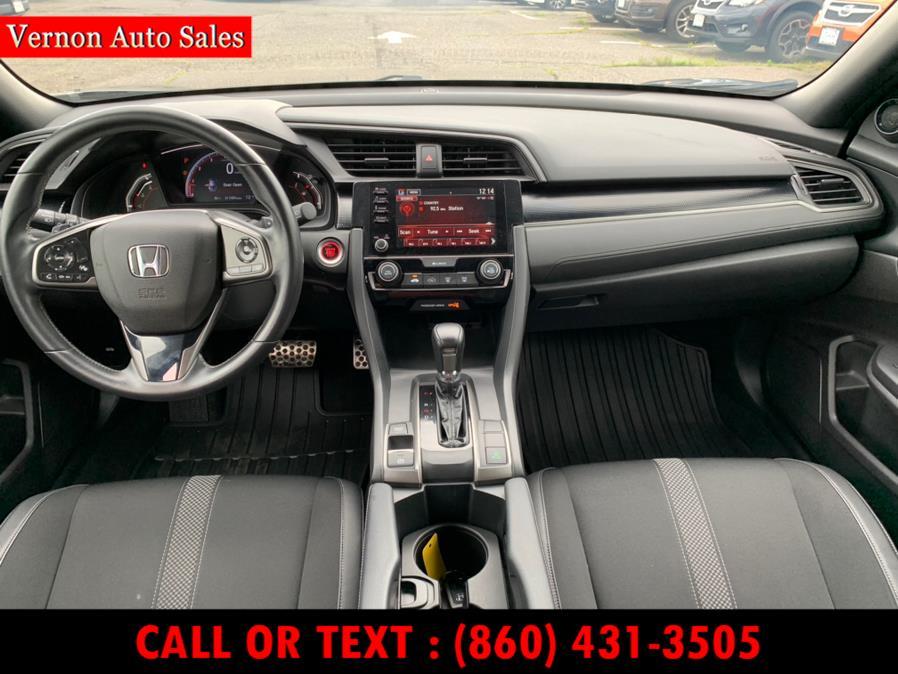 Used Honda Civic Hatchback Sport CVT 2020 | Vernon Auto Sale & Service. Manchester, Connecticut