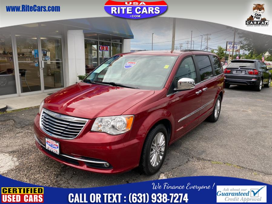 Used Chrysler Town & Country 4dr Wgn Touring-L Anniversary Edition 2016 | Rite Cars, Inc. Lindenhurst, New York