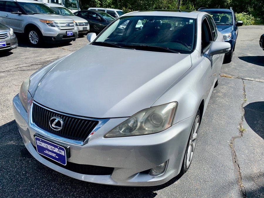Used Lexus IS 250 4dr Sport Sdn Auto AWD 2009 | Second Street Auto Sales Inc. Manchester, New Hampshire