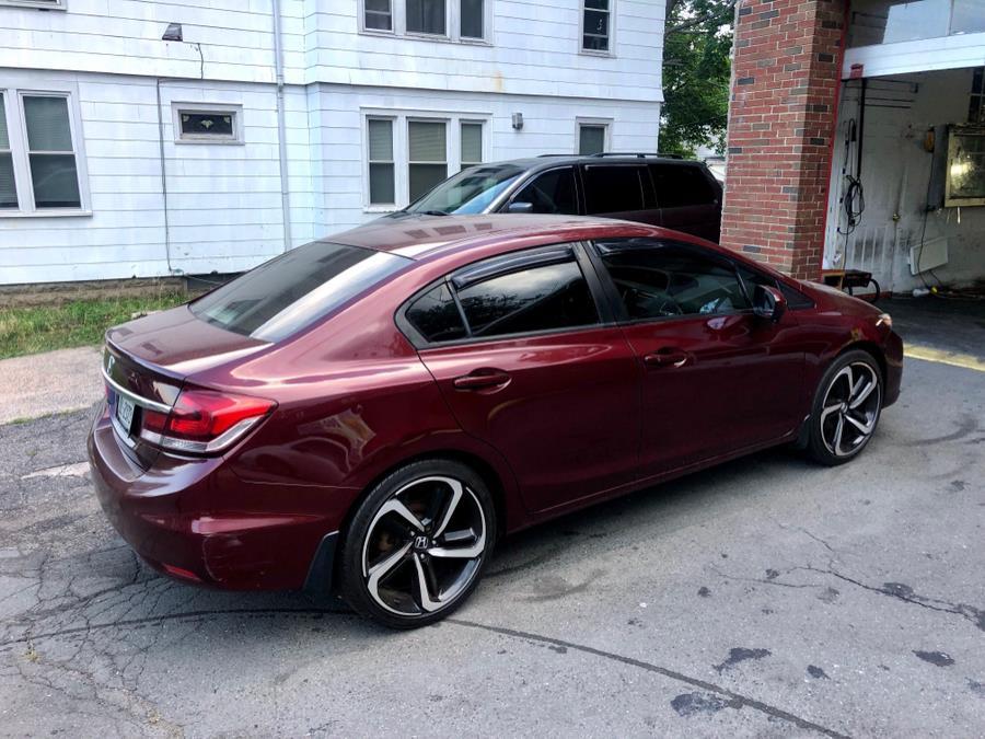 Used Honda Civic Sedan 4dr CVT EX 2014 | Primetime Auto Sales and Repair. New Haven, Connecticut