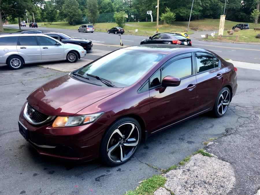 Used 2014 Honda Civic Sedan in New Haven, Connecticut | Primetime Auto Sales and Repair. New Haven, Connecticut