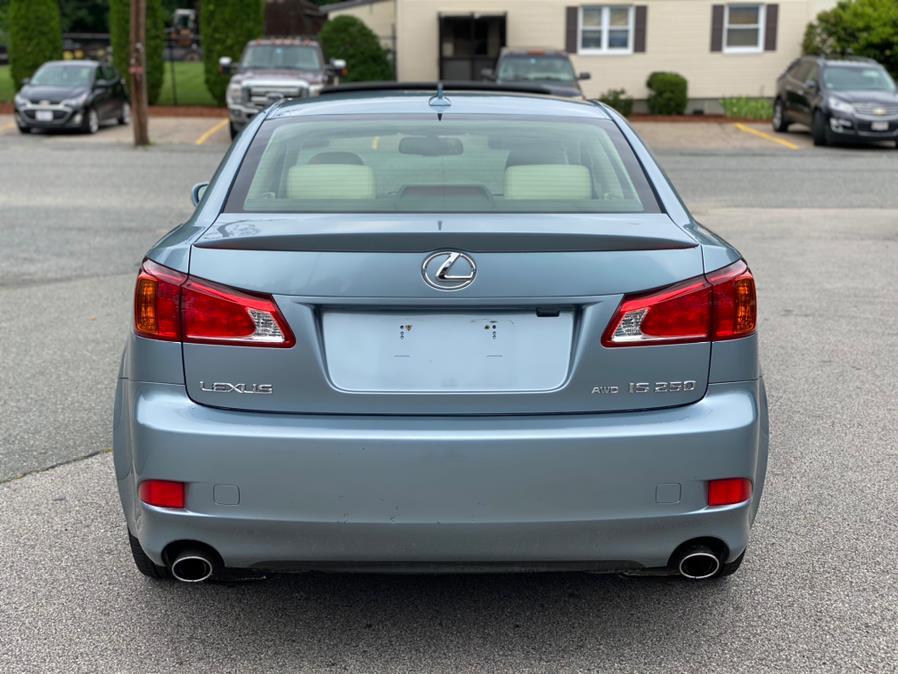 Used Lexus IS 250 4dr Sport Sdn Auto AWD 2009 | New Beginning Auto Service Inc . Ashland , Massachusetts