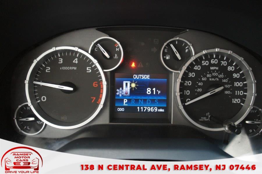 Used Toyota Tundra 4WD Truck CrewMax 5.7L V8 6-Spd AT SR5 (Natl) 2014 | Ramsey Motor Cars Inc. Ramsey, New Jersey