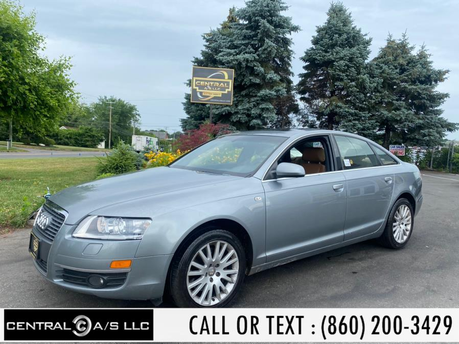 Used Audi A6 4dr Sdn 3.2L quattro 2007 | Central A/S LLC. East Windsor, Connecticut