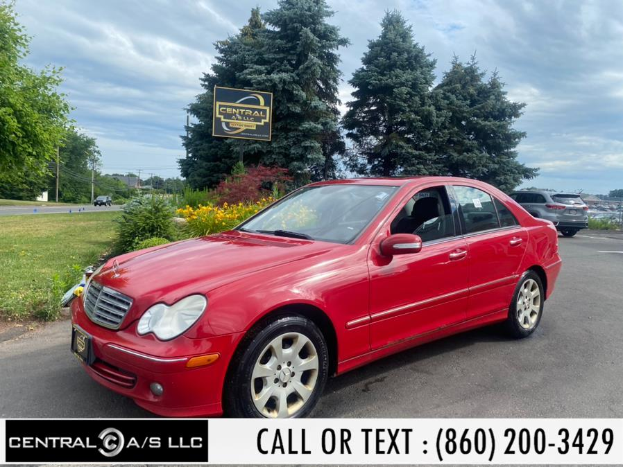 Used Mercedes-Benz C-Class 4dr Luxury Sdn 3.0L 4MATIC 2006   Central A/S LLC. East Windsor, Connecticut