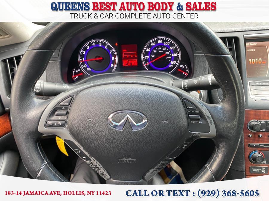 Used INFINITI G35 Sedan 4dr x AWD 2008 | Queens Best Auto Body / Sales. Hollis, New York