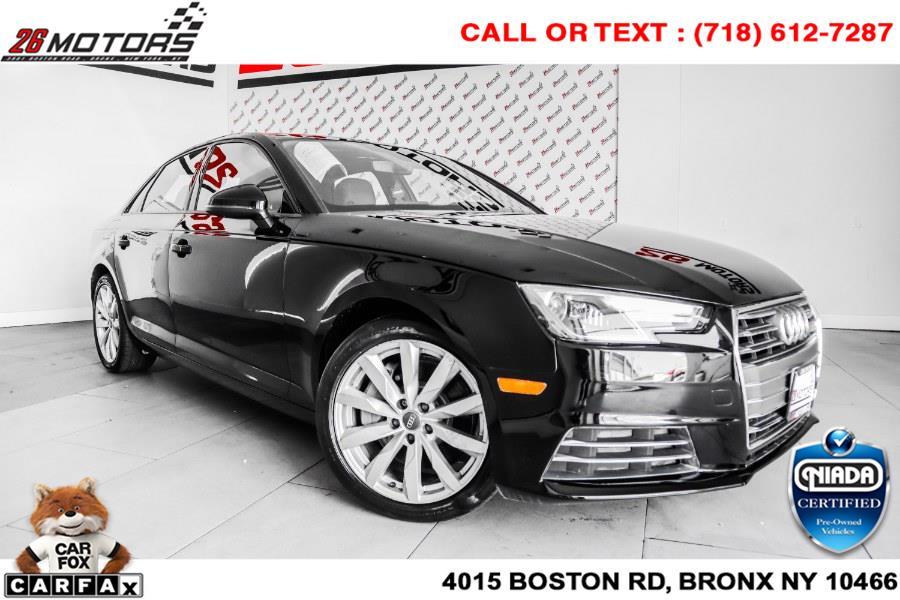 Used Audi A4 2.0 TFSI Auto Premium quattro AWD 2017   26 Motors Corp. Bronx, New York