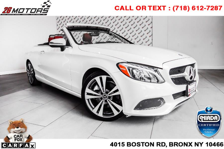Used Mercedes-Benz C-Class C 300 4MATIC Cabriolet 2017   26 Motors Corp. Bronx, New York