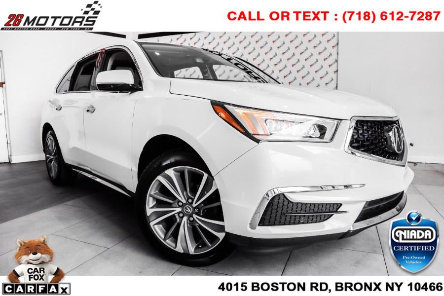 Used Acura MDX SH-AWD w/Technology Pkg 2018 | 26 Motors Corp. Bronx, New York
