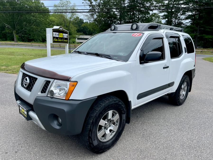 Used Nissan Xterra 4WD 4dr Auto Pro-4X 2011 | Mike And Tony Auto Sales, Inc. South Windsor, Connecticut