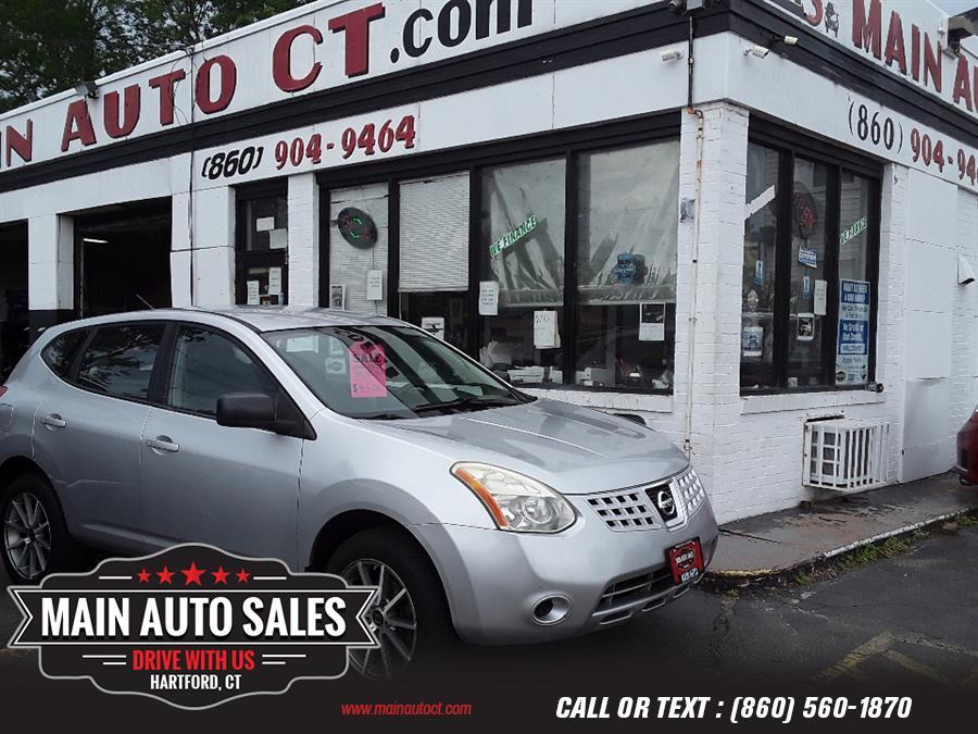 Used Nissan Rogue AWD 4dr SL w/CA Emissions 2008   Main Auto Sales LLC. Hartford, Connecticut