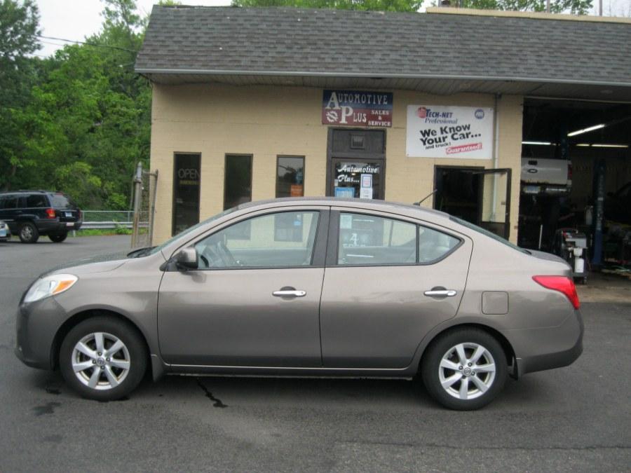 Used Nissan Versa 4dr Sdn CVT 1.6 SL 2012 | Automotive Plus. Bristol, Connecticut