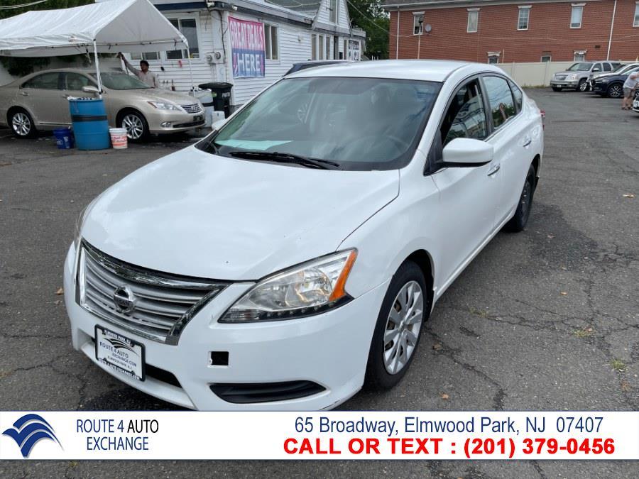 Used Nissan Sentra 4dr Sdn I4 CVT SR 2013 | Route 4 Auto Exchange. Elmwood Park, New Jersey