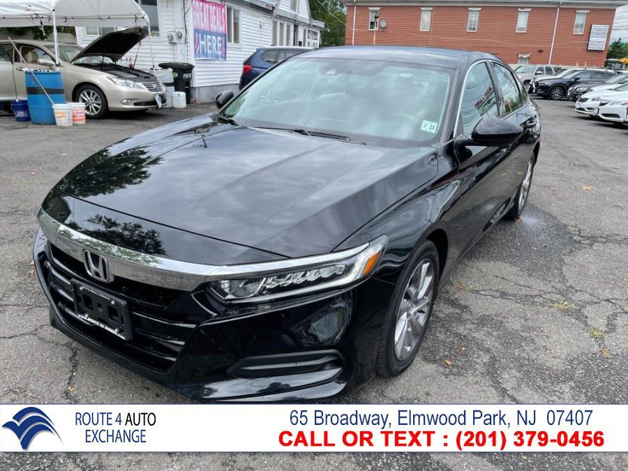 Used Honda Accord Sedan LX 1.5T CVT 2018   Route 4 Auto Exchange. Elmwood Park, New Jersey