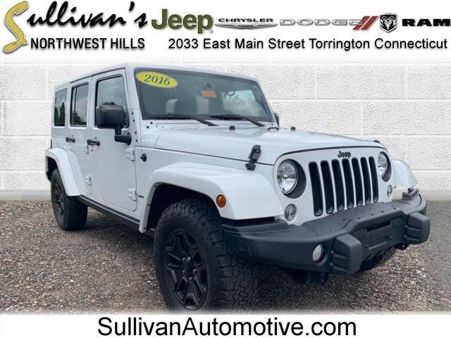 Used Jeep Wrangler Unlimited Sahara 2016   Sullivan Automotive Group. Avon, Connecticut