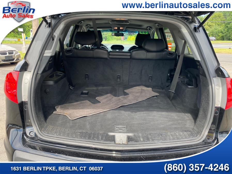 Used Acura MDX AWD 4dr Sport/Entertainment Pkg 2009   Berlin Auto Sales LLC. Berlin, Connecticut