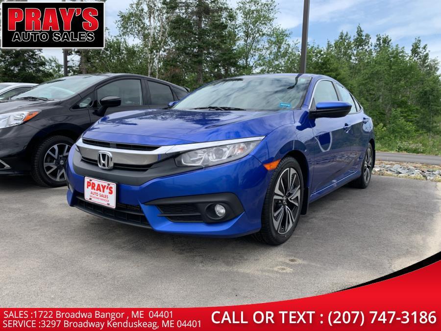Used Honda Civic Sedan EX-L CVT w/Navigation 2017 | Pray's Auto Sales . Bangor , Maine