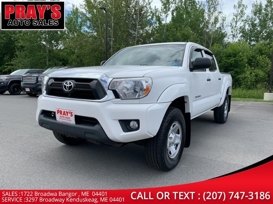 Used Toyota Tacoma 4WD Double Cab V6 AT (Natl) 2014   Pray's Auto Sales . Bangor , Maine