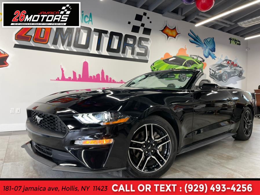 Used Ford Mustang EcoBoost Premium Convertible 2020 | Jamaica 26 Motors. Hollis, New York