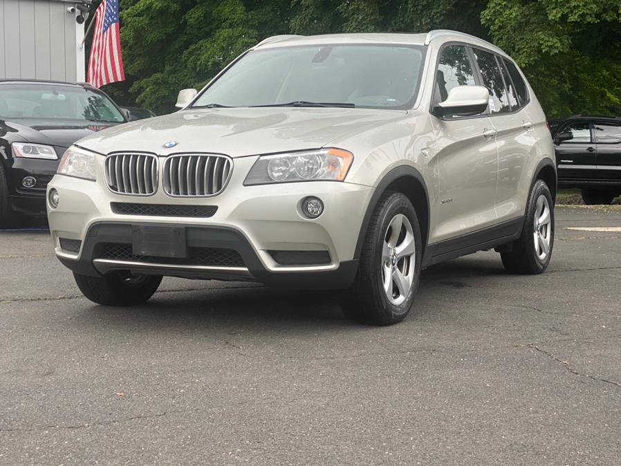 Used BMW X3 AWD 4dr 28i 2012 | Lava Motors 2 Inc. Canton, Connecticut