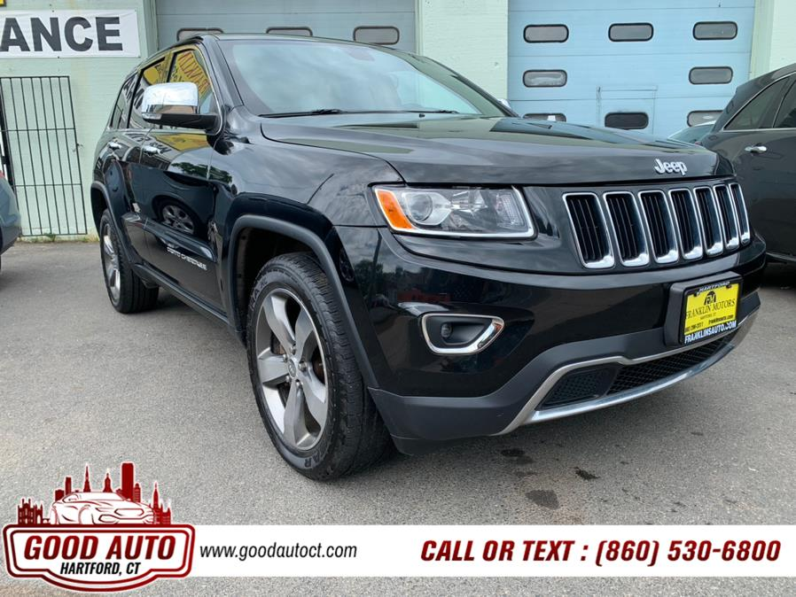 Used Jeep Grand Cherokee 4WD 4dr Limited 2015   Good Auto LLC. Hartford, Connecticut