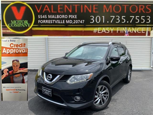 Used Nissan Rogue SL 2014 | Valentine Motor Company. Forestville, Maryland