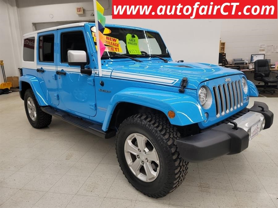 Used 2017 Jeep Wrangler Unlimited in West Haven, Connecticut