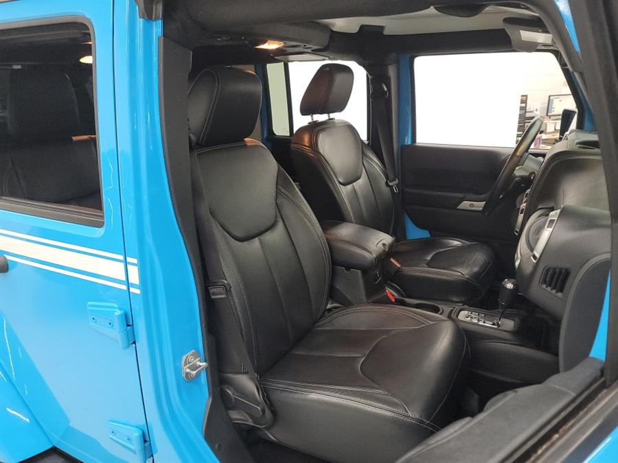 2017 Jeep Wrangler Unlimited Sahara Chief 4x4, available for sale in West Haven, CT
