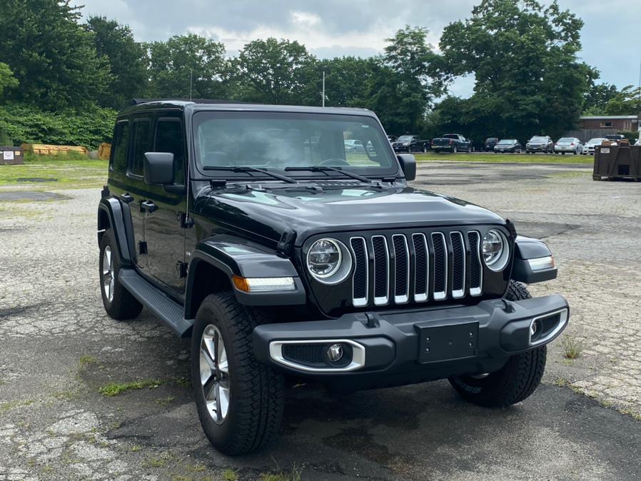 Used Jeep Wrangler Unlimited Sahara 4x4 2020 | CT Auto. Bridgeport, Connecticut