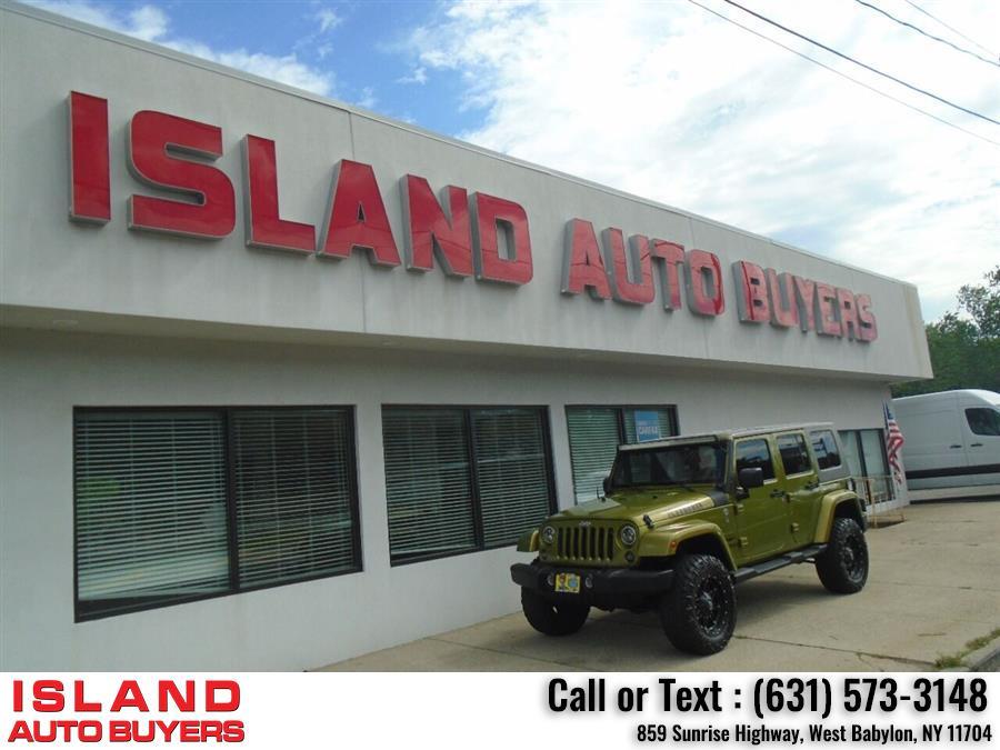 Used Jeep Wrangler Unlimited Sahara 4x4 4dr SUV 2010 | Island Auto Buyers. West Babylon, New York