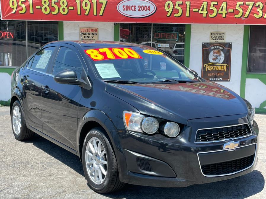 Used 2014 Chevrolet Sonic in Corona, California | Green Light Auto. Corona, California