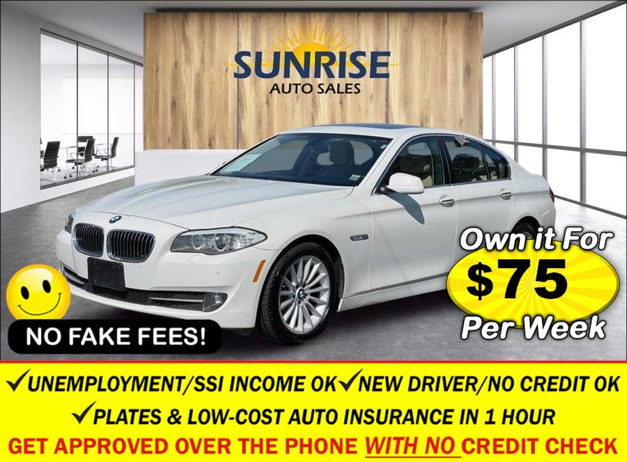 Used BMW 5 Series 4dr Sdn 535i xDrive AWD 2013 | Sunrise Auto Sales. Rosedale, New York