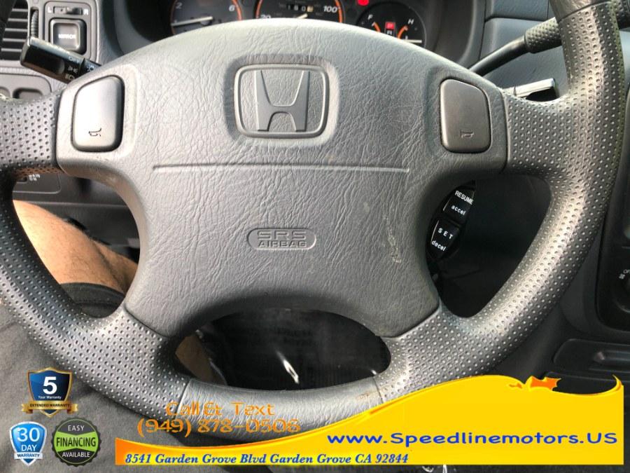Used Honda CR-V 2WD LX Auto 2001   Speedline Motors. Garden Grove, California